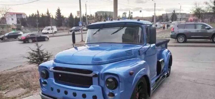 Спортивный, но комфортный ЗИЛ: самодельный грузовик из Грузии