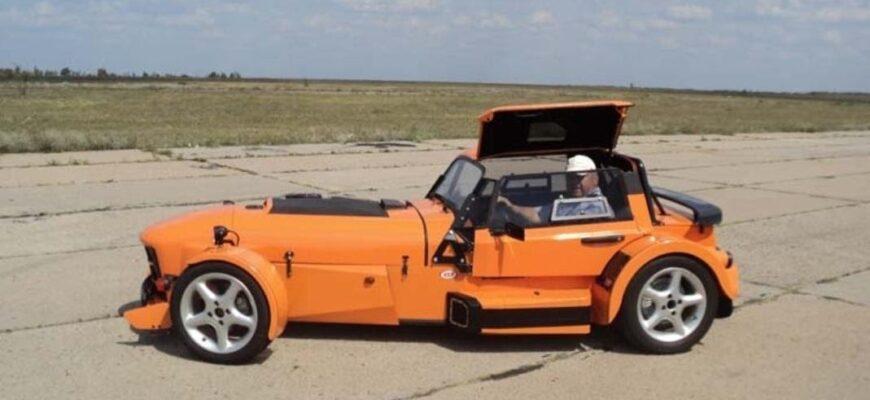 KVS «Башмак» или как сделать спортивный автомобиль из деталей ВАЗа
