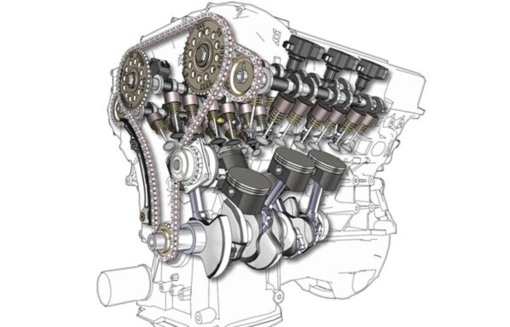 Шестнадцатиклапанный двигатель