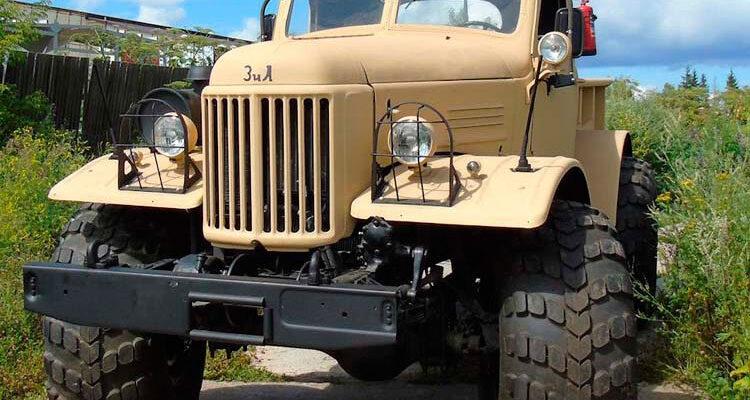 Уникальный «Лесоруб» из грузовика ЗИЛ-157