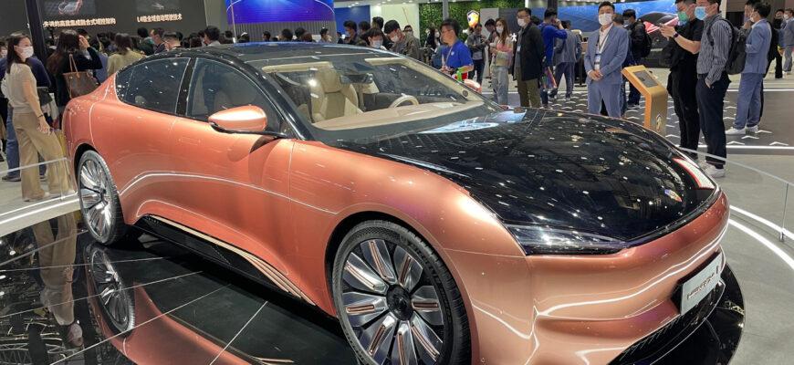 Китайские разработчики получили премию за самый лучший дизайн авто