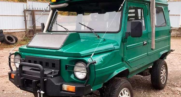 «ЛуАЗ» с двигателем от Volkswagen Golf и сиденьями от Lanos