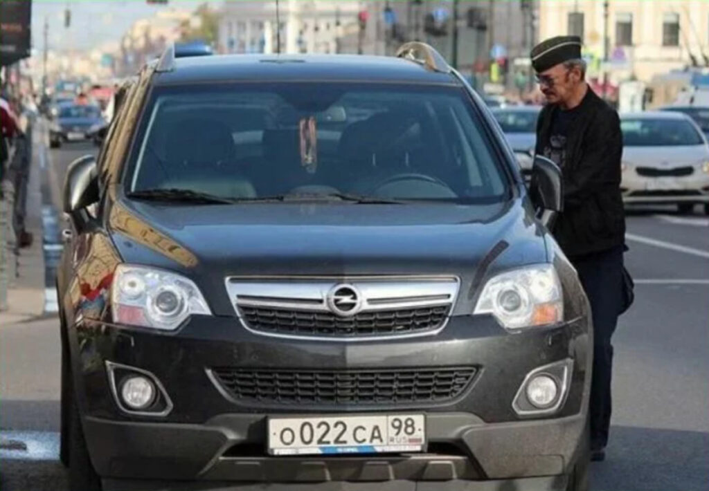 Боярский со своим Opel Antara