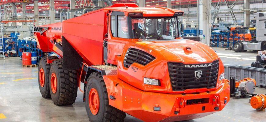 Супергрузовик - КАМАЗ Геркулес