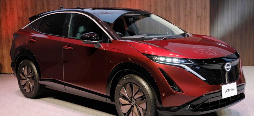 Электрическая «Ария» - новинка от Nissan Motor в кузове кроссовер