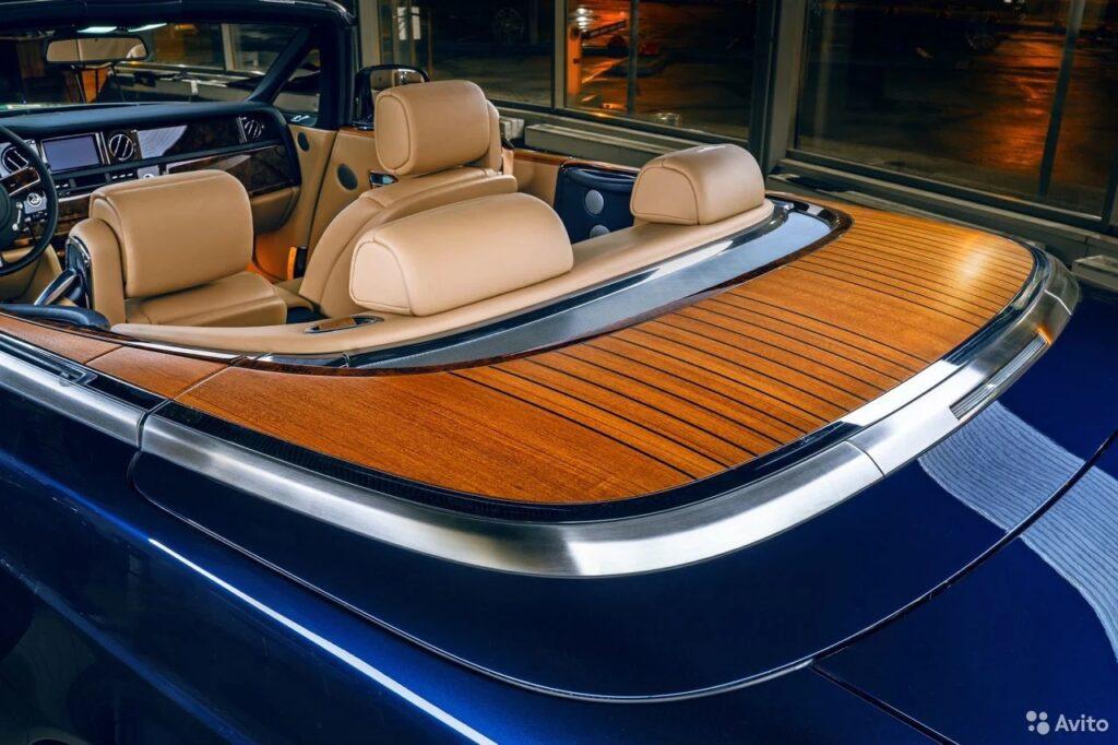 Rolls-Royce Phantom стилизованный под яхту стоимостью 31 миллион рублей
