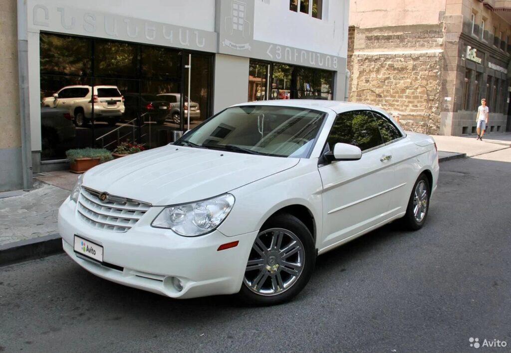 Шикарный кабриолет Chrysler Sebring по цене Киа Рио