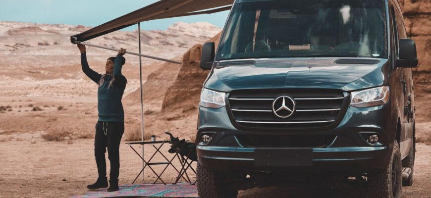 Внедорожный кемпер на базе Mercedes-Benz Sprinter - элитный отдых