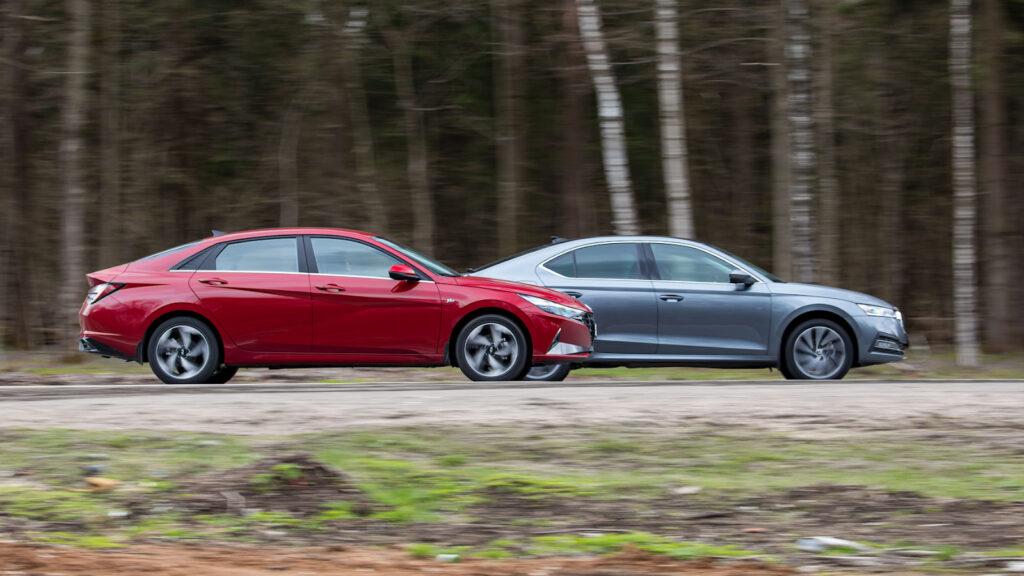 В тестовом заезде чешский автомобиль подтверждает лучшую динамику
