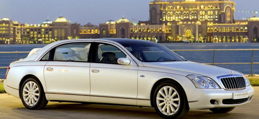 Самый дорогой автомобиль в России за 2 млн долларов - Maybach 62 S Landaulet