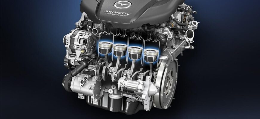Технология Mazda SKYACTIV - как она работает, и чем лучше других