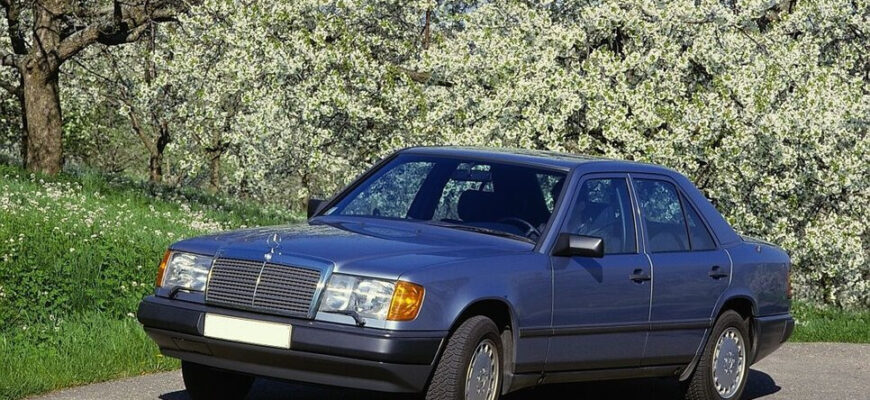 Можно ли купить легендарный Mercedes-Benz W124 в хорошем состоянии сегодня?