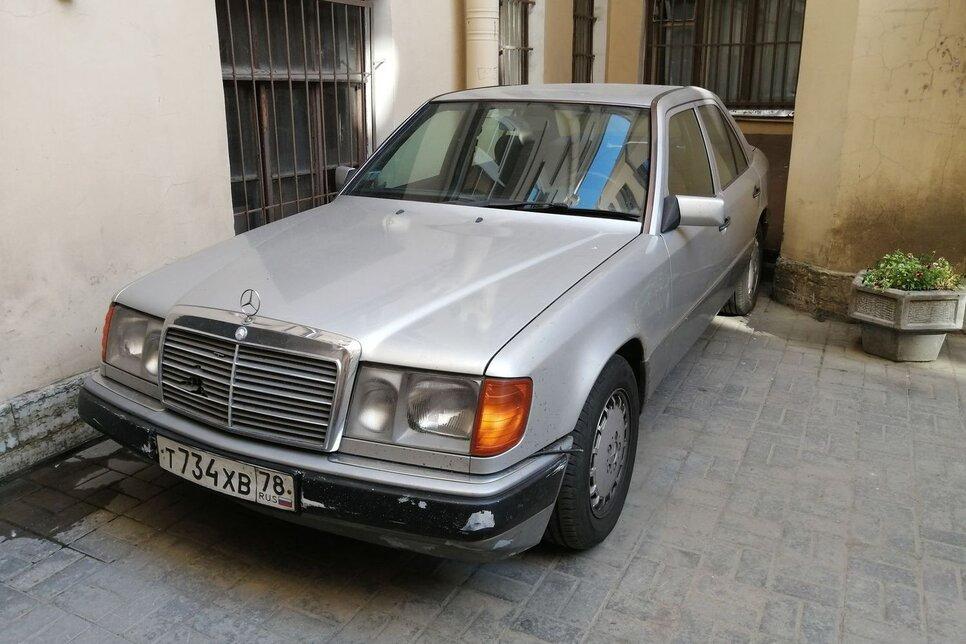 Mercedes-Benz W124 с минимальным набором опций – двигатель 150 л. с.