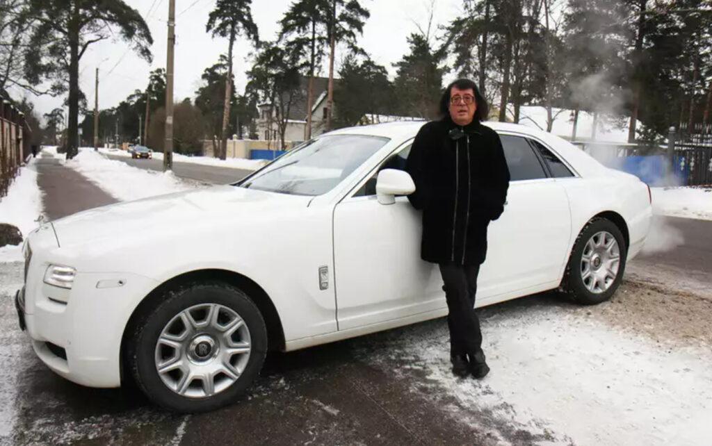 Игорь Корнелюк со своим Rolls—Royce