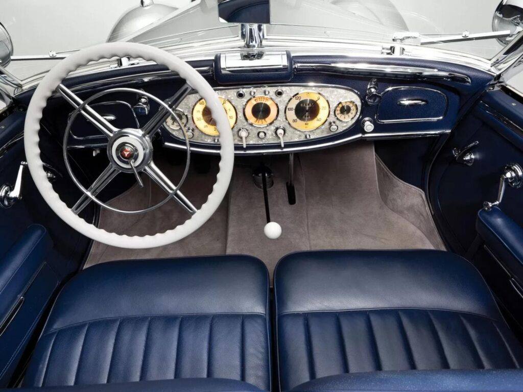 Оригинальное оснащение Mercedes-Benz 500K в исполнении Roadster Special