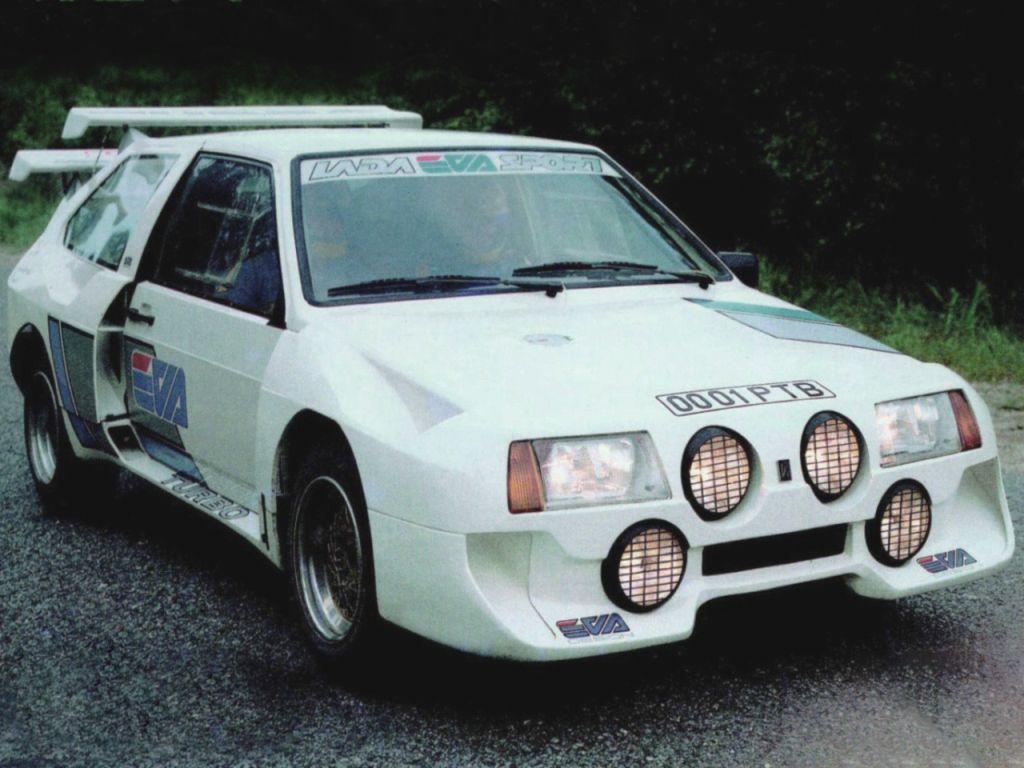 Самый мощный (300 л. с.) раллийный автомобиль советского периода – EVA