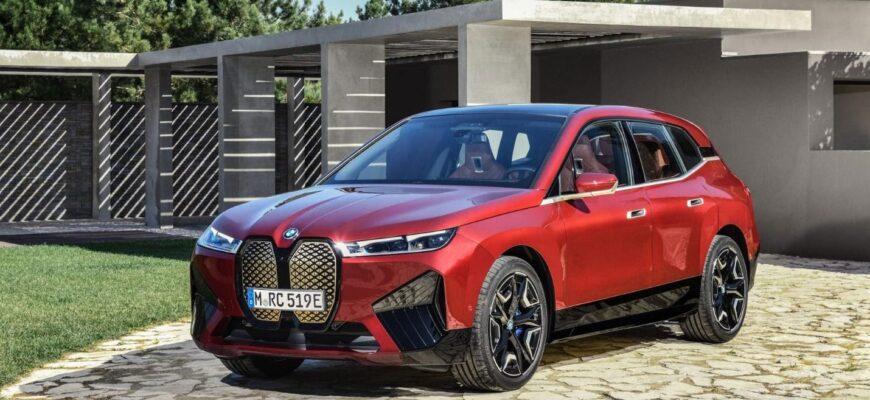 Новейший электромобиль BMW iX - в нем невозможно открыть капот?