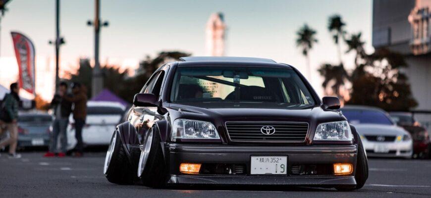Автомобильный стиль Oni-kyan: классика японских улиц