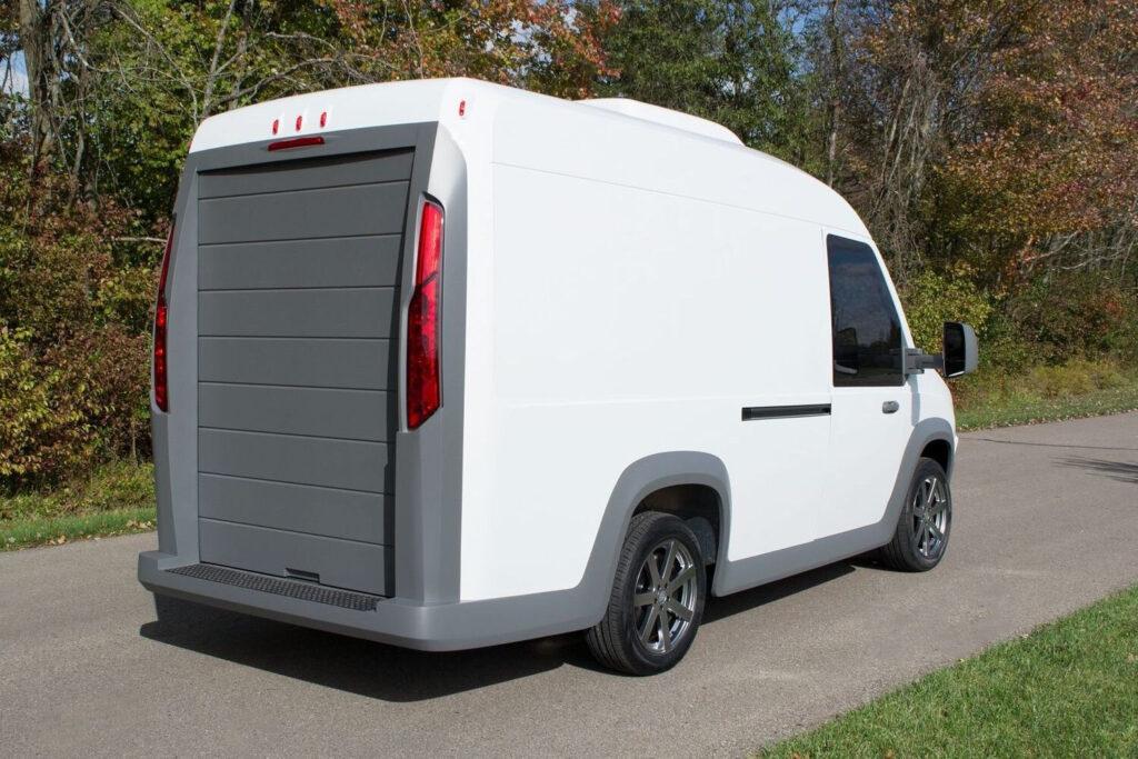 N-Gen Electric Van с облегченным кузовом из полимерных материалов