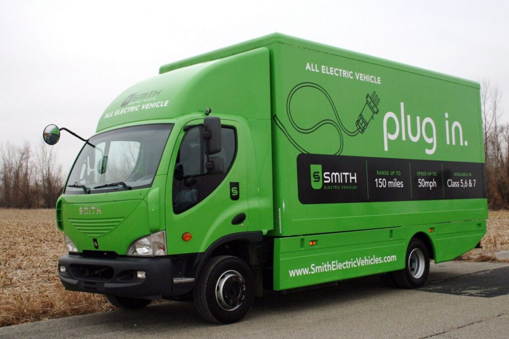 Электрический грузовик Smith Newton
