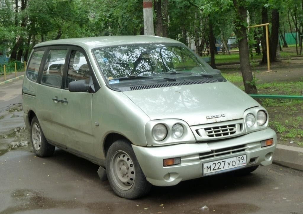 ВАЗ-2120 «Надежда» после рестайлинга в 2002 году