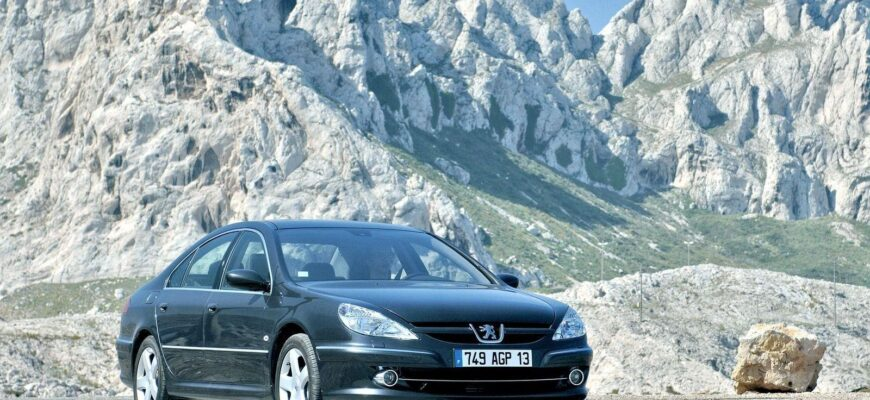 Бизнес-седан за 0,5 млн рублей: особенности покупки Peugeot 607