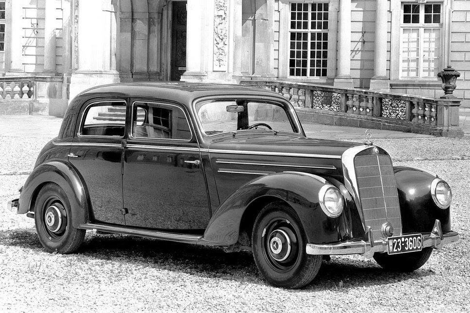 Mercedes-Benz Typ 220 W187 – первый автомобиль Sonderklasse