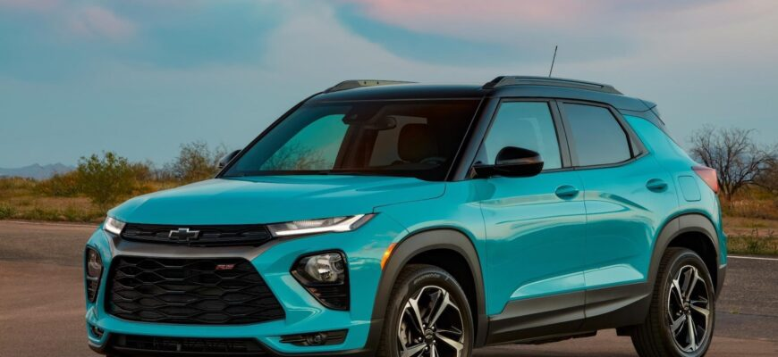 Новый Chevrolet Trailblazer - дорого и не функционально?