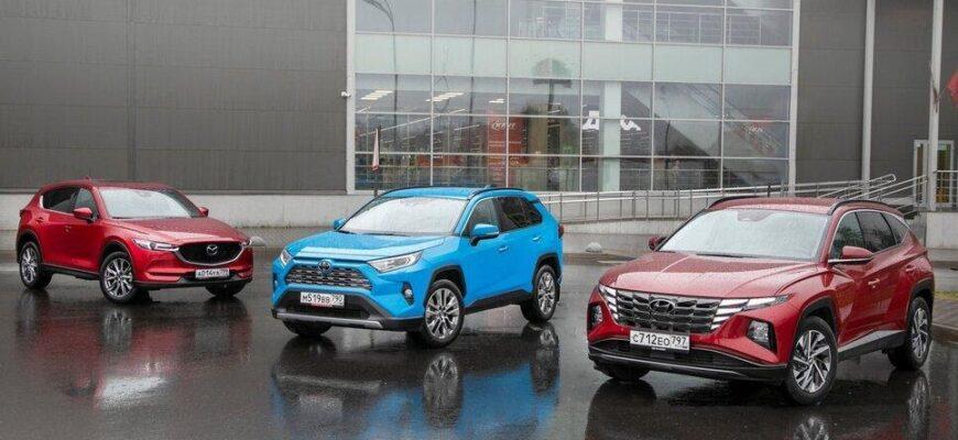 Выбираем лучший 2-литровый кроссовер: Hyundai Tucson, Toyota RAV4 или Mazda CX-5