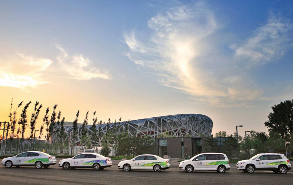Олимпийский автопарк Volkswagen