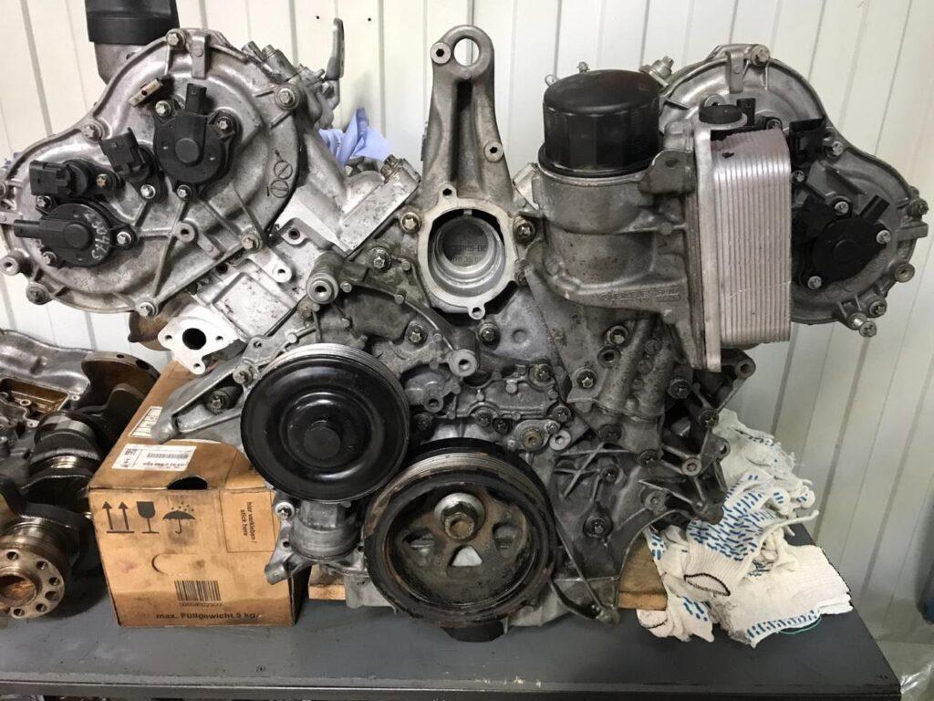 Двигатель Mercedes М272