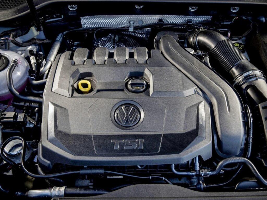 Бензиновый мотор VW EA888