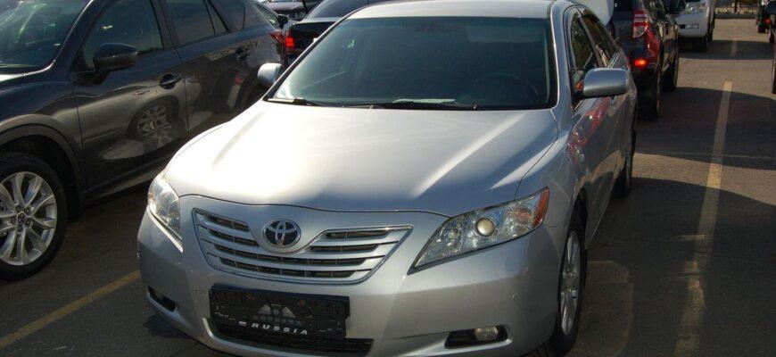 """Toyota Camry XV40 """"мыльница"""" - как выбрать хороший б.у. вариант"""