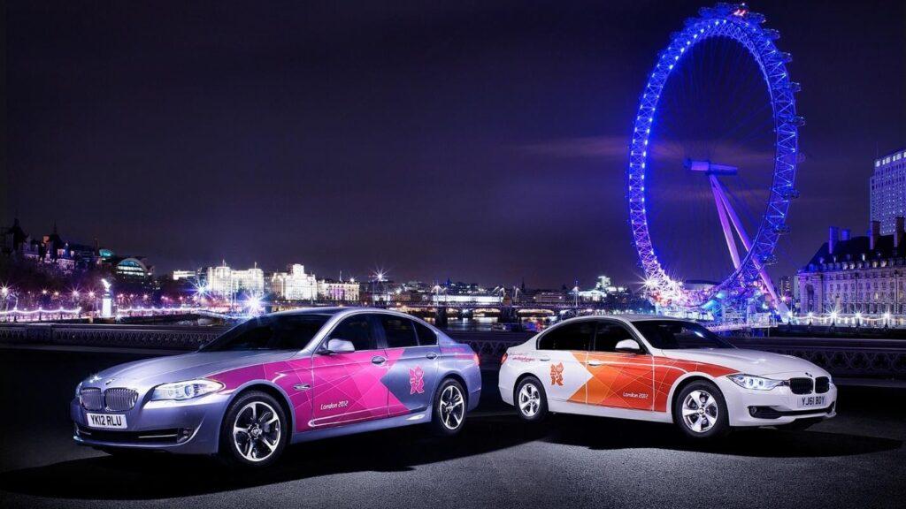 BMW а Олимпиаде