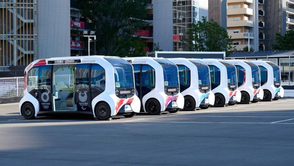 Микроавтобусы Toyota на Олимпиаде