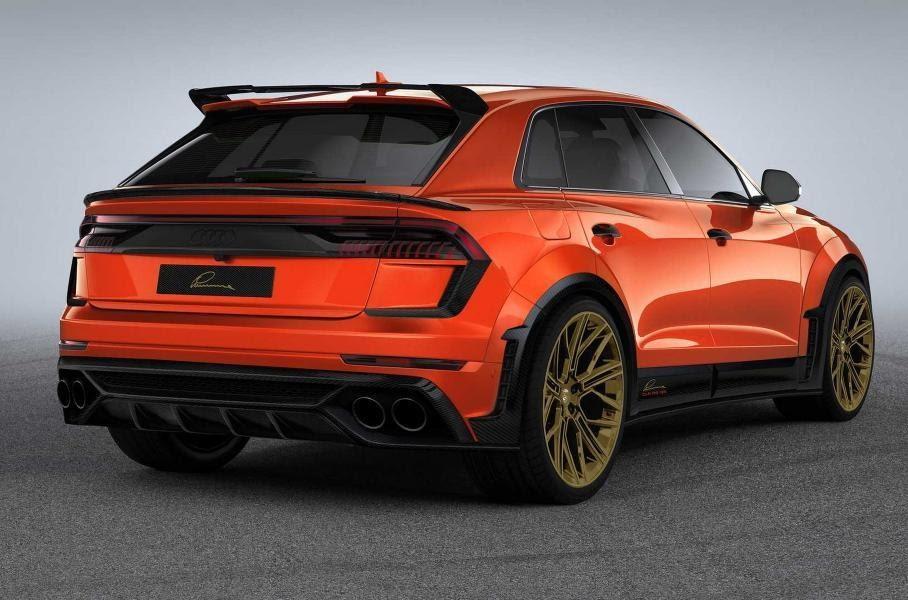 Audi RS Q8 – тюнинг Lumma