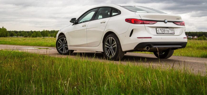 Самый дешевый седан BMW: тест-драйв Gran Coupe 218i