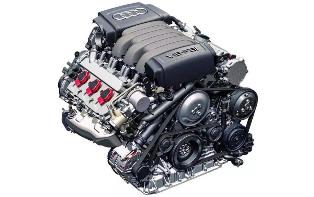 Бензиновый двигатель 3.2 FSI сохраняет функциональность при пробеге до 300000 км