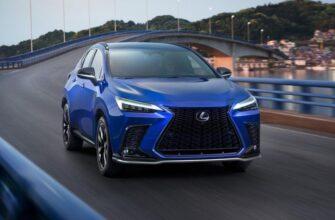 Lexus NX: новинка для российского рынка