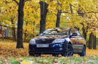 «Вечный» бюджетный седан: обзор Toyota Corolla IX с пробегом