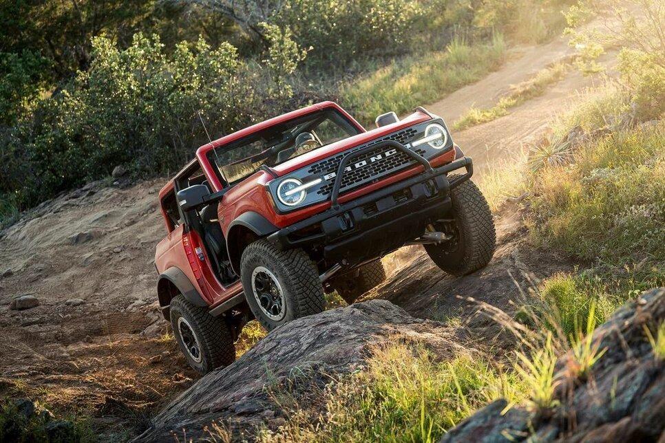 Автомобиль для хардкорного офф-роуда: Ford Bronco