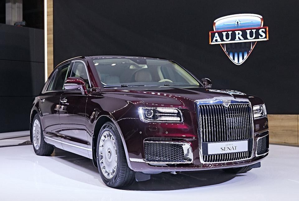 Старт продаж Aurus: обзор самого роскошного российского автомобиля