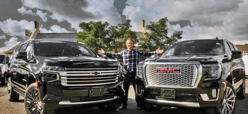 Автомобили для американцев, которые не поставляют на российский рынок