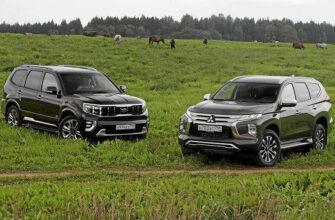 Какой рамный внедорожник лучше: Kia Mohave против Mitsubishi Pajero Sport