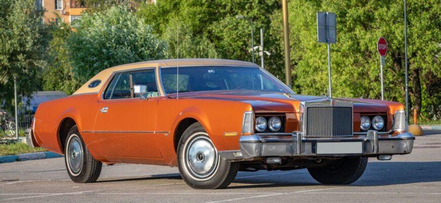Любимый автомобиль Брежнева: тест-драйв Lincoln Continental Mark IV