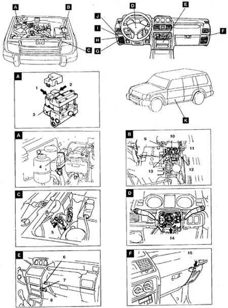 2. Реле привода ABS-системы