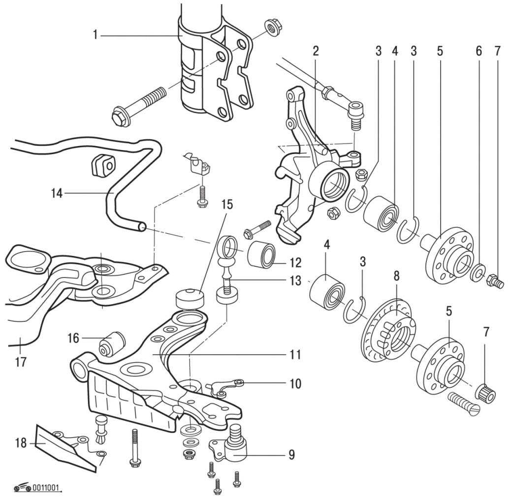 Задняя подвеска пассат б6 схема регулировка 2