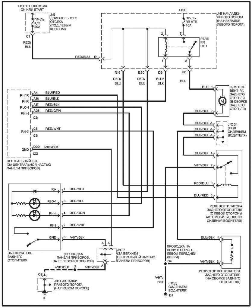 принципиальная схема навигационной системы