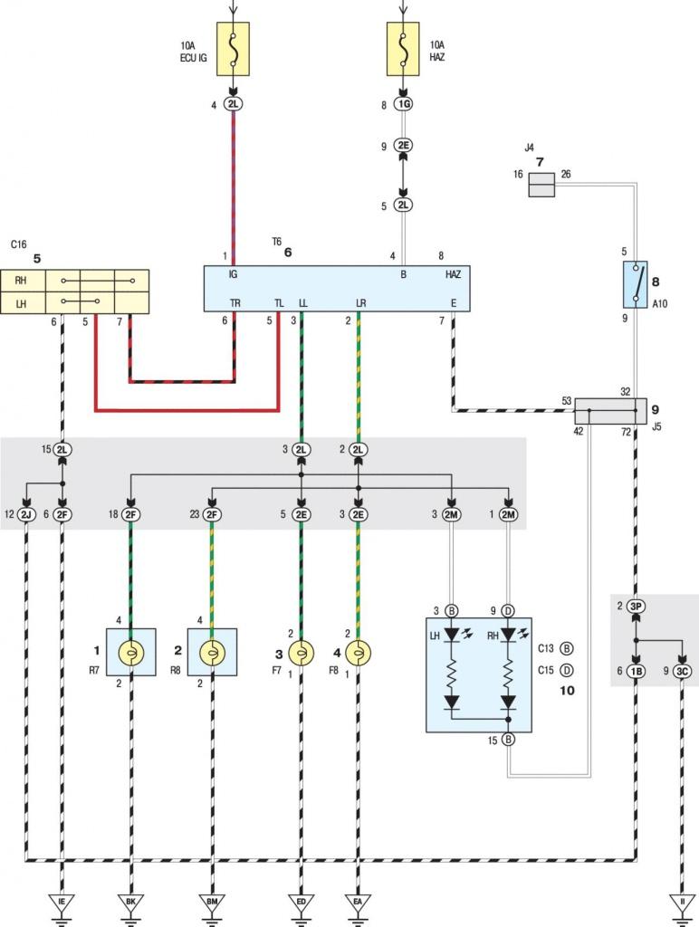 Схема системы охлаждения тойота дуэт