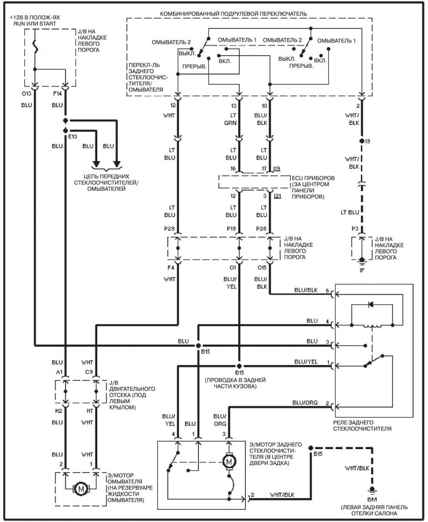 Схема на land cruiser